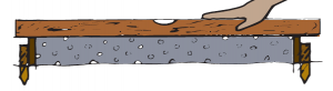 Placing the concrete